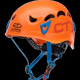 Casco polivalente Climbing Technology Galaxy naranja/azul