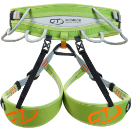Arnés escalada Climbing Technology Ascent verde/gris