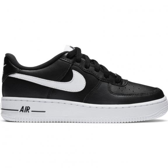Impresión Año Nuevo Lunar hermosa  Zapatillas Nike Air Force 1 AN20 negro/blanco junior - Deportes Moya