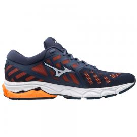 Zapatillas running Mizuno Wave Ultima 11 azul/naranja hombre