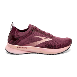 Zapatillas running Brooks Levitate 4 buedeos/coral mujer
